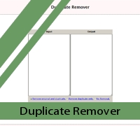 Duplicate remover